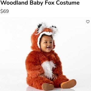 Pottery Barn Woodland Fox Costume